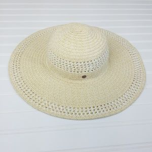 Calia Adjustable Floppy Straw Sun Hat